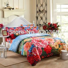 Aliexpress.com : Buy Bedding sets Reactive printing 3d bedcloths Quilt cover /Bed Sheet/pillowcases Oil painting bedding 100% cotton duvet cover set from Reliable duvet cover set suppliers on Yous Home Textile $75.00