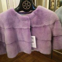 Lilac mink @harrods @joseph @matches @saks #fur #mink #luxury #carolinestansbury