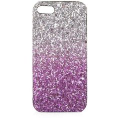 TOPSHOP Super Glitter iPhone 5 Case ($20) ❤ liked on Polyvore featuring accessories, tech accessories, phone cases, phone, cases, electronics, pink i topshop