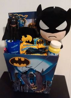 Where you will find highly unique, Handmade, personalized and custom built gift basket creations for anyone and any occasion! Birthday Gift Baskets, Easter Gift Baskets, Baby Shower Gift Basket, Baby Shower Gifts, Craft Gifts, Diy Gifts, Festa Hot Wheels, Batman Gifts, Creative Birthday Gifts