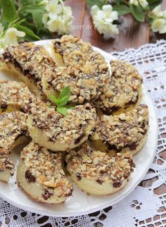 Romanian Desserts, Salmon Burgers, Bagel, Sweet Treats, Recipies, Food And Drink, Dessert Recipes, Sweets, Bread