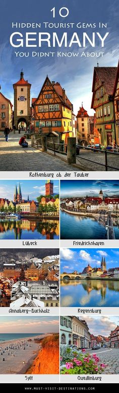 10 Hidden Tourist Gems In Germany You Didn't Know About #Germany #travel #germanytravel