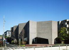 Oficina de concesionario vehicular Graz y vivienda, Tokyo, Japón - Hiroshi Nakamura & NAP Co., Ltd. - © Koji Fujii / Nacasa and Partners