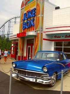Favorite diner in Kings Island Summer Memories, Sweet Memories, Kings Island Cincinnati, Fifties Style, Springfield Ohio, Home Of The Brave, Special Interest, Park Photos, Amusement Parks