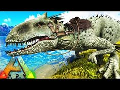 Ark survival evolved building the elevator s3e71 gameplay ark survival evolved indominus rex taming vs t rex vs giganotosaurus malvernweather