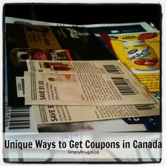 Unique Ways to Get More Free Canadian Coupons