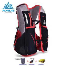 62f95369a2cb3 AONIJIE 5L Women Men Marathon Hydration Vest Pack For 1.5L Water Bag  Cycling Hiking Bag Outdoor Sport Running Backpack-in Running Bags from  Sports ...