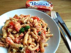 Glücksstücke: Montagsquickie: Pasta mit schneller Brunch-Sauce