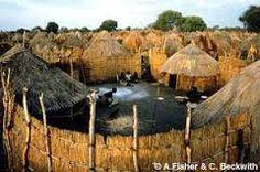 Znalezione obrazy dla zapytania african village houses