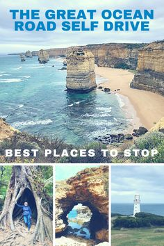 If you are planning on driving down to the Great Ocean Road in Australia, here are some tips on the best places to stop.