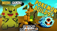 Neebs starts the first day of what is sure to be an epic adventure in the world of Pokemon!!! Scrap Mechanic - Pokemon Builds! Check out Anthony on CSN: http...