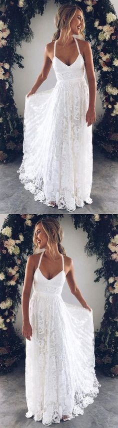 White bride dresses. All brides dream about finding the perfect wedding day, however for this they need the perfect wedding gown, with the bridesmaid's dresses complimenting the brides-to-be dress. Here are a number of ideas on wedding dresses. #weddingdress