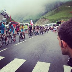 How close does Trek Travel get you to the TdF action? This close! Photo by guide Jonathan H.