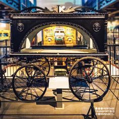 The hearse driven by horses, a funeral carriage from early 20th century that belonged to a Parsi Community from Gujarat!  #horsecarriage #vintagetransport #vintagecollection #travel #transportmuseum #gurugram #mansear #incredibleindia