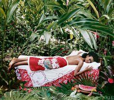 Vogue June 2003 / Photographed by Arthur Elgort