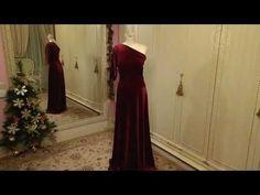 Ольга Никишичева. Новогоднее платье из бархата