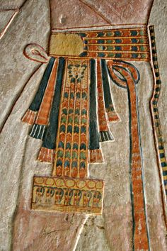 Ribbons and loops and leopards, oh my! Tomb of Khaemwaset (QV 44).