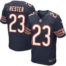 Men's Nike Chicago Bears #23 Devin Hester Elite Team Color Blue Jersey$129.99