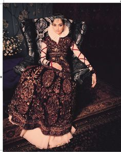 Sonam in Rohit Bal couture for Bazaar bride march `14