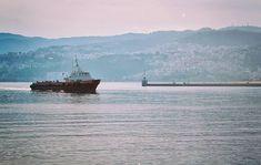 [με μουσική υπόκρουση  Karl Zero  Varka sto Yalo] #boat #port #harbor #sea #Kavala #Greece #ilovekavala #kavalacity #ilovegreece