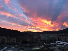 Sunset in Sliven, Bulgaria Bulgaria, Clouds, In This Moment, Celestial, Sunset, Photography, Outdoor, Sunsets, Outdoors