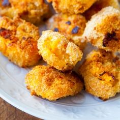 Mac ' Cheese Baked Cheese Balls by Averie
