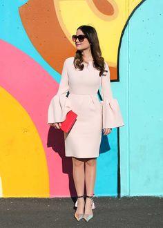 Roksanda Margot Dress / Fashion / Style / Blogging / Travel / Street Art / Colored Walls / Murals / Graffiti Walls / Blogger / Coney Island