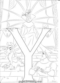 Magical And for Yzma You are in the right place about stranger things Coloring Pages Here we offer you the most beautiful pictures about the. Disney Coloring Pages Printables, Disney Coloring Sheets, Disney Princess Coloring Pages, Disney Princess Colors, Disney Colors, Coloring Letters, Alphabet Coloring Pages, Cartoon Coloring Pages, Coloring Pages To Print