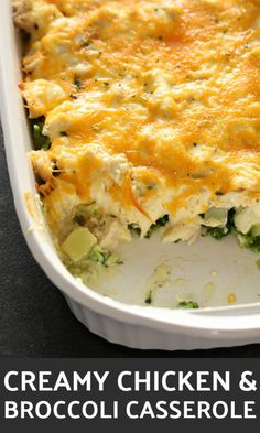 Mom s Easy Chicken Broccoli Casserole Mom s Easy Chicken Broccoli Casserole Jessica Bailey Recipes Creamy Chicken and Broccoli Casserole on SixSistersStuff the easiest casserole nbsp hellip salad with miracle whip Chicken Brocolli Casserole, Chicken Broccoli Cheese, Creamy Chicken Casserole, Cheesy Chicken, Keto Chicken, Chicken Enchiladas, Grilled Chicken, Sauce Crémeuse, Broccoli Recipes