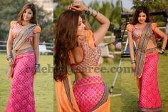 Komal Jha Ruffled Sleeves Blouse | Saree Blouse Patterns