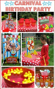 Driven By Décor: A Carnival / Circus Themed Birthday Party