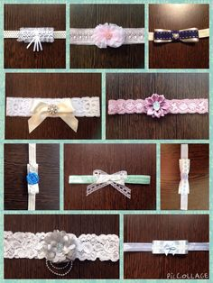 Luxury bespoke handmade garter from Lilly Dilly's  #wedding #garter #handmade #bespoke #luxury #lace #pearls #vintage #pastel #ribbon #bow #flower #blue #pink #grey #white #ivory