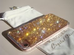 Iphone 7 Case Rangsee Crystal Cases are our personal selection of high quality mobile phone cases. We use Rhinestone Crystals that have gone through multiple inspections to insure you get the highest quality product.  Rangsee Crystal Cases are created with you in mind. After extensive testing and customer input, we have found the smooth rounded edges, along with the sparkling recessed crystals, will give you long lasting comfort when using your mobile phone. Your new case will be shipped in…