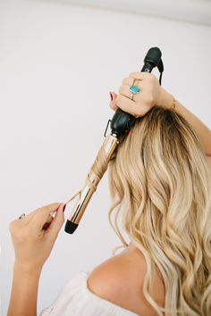 Mermaid Beach Waves Hair Tutorial