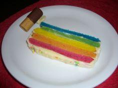 Rainbow Cake - Pastel de Arcoiris