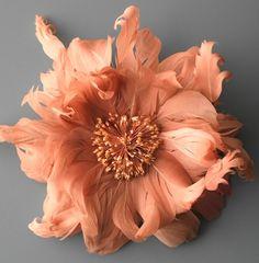 feather flower...welll not really a flower but still