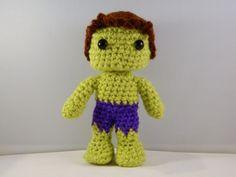 The Hulk Avengers movie inspired crochet by LottiesCreations. £14.00, via Etsy.