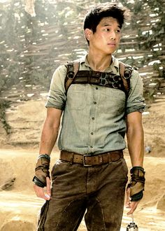 Ki Hong Lee...he looks good in Maze Runner..different from in the youtube..