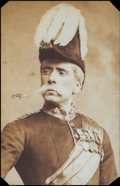 """George Grossmith as Major-General Stanley in the original London production of """"The Pirates of Penzance"""" in 1880."""