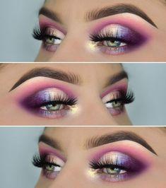 Einhorn-Look! Produkte :, Juvia's Place Masquerade Palette, pigmen… – Make-up Ideen Eye Makeup Tips, Makeup Goals, Skin Makeup, Makeup Inspo, Eyeshadow Makeup, Makeup Inspiration, Beauty Makeup, Makeup Hacks, Makeup Tutorials