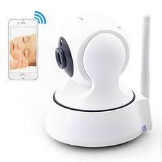 Marlboze HD 무선 보안 IP 카메라 WifiI 와이파이 R 컷 나이트 비전 오디오 기록 감시 네트워크 실내 아기 모니터