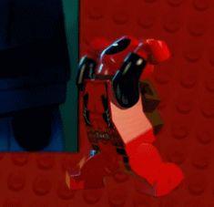 A Lego Deadpool makes a great GIF.