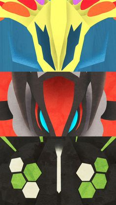 Xerneas, Yveltal, and Zygarde | Pokemon Gijinka ...