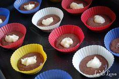 Briose de ciocolata cu crema de branza si ciocolata alba - Pas 6