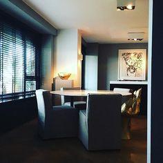 #tuesday #evening #vignette #gold #marble #art #blinds #dining #homemaking #interiordesign #interior #instalife