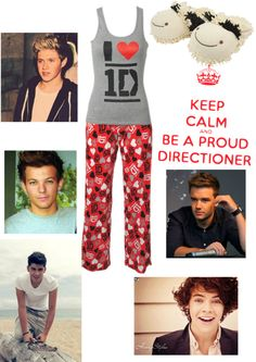 """1 direction"" by lexiemay ❤ liked on Polyvore"