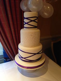 3tier wedding cake