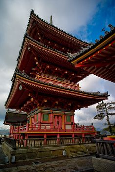 Pagoda - Kiyomizudera , Kyoto ... been here too! But still, would love to see it again :)