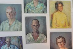 collection of vintage portrait oil paintings | Flickr - Photo Sharing!