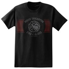 Game of Thrones House Targaryen Band T-Shirt